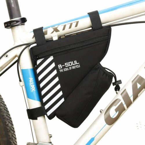 Waterproof Triangle Cycling Bike Bicycle Front Tube Frame Saddle Bag Phone Pouch