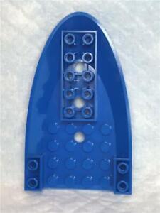 LEGO Dark Bluish Gray Aircraft Fuselage Curved Forward 6 x 10-87611 NEUF