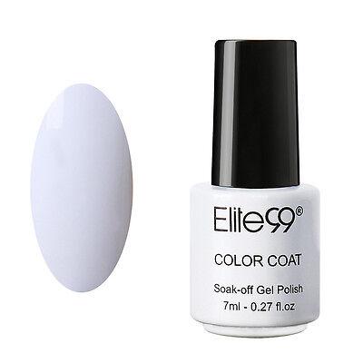 Elite99 Soak Off UV LED Color Gel Polish Collection Base Top Coat Nail Art 7ml