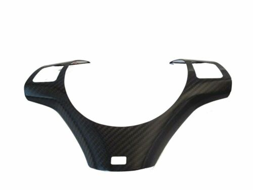 M Sport Package Dry Carbon Steering Wheel Trim Cover For BMW E90 E91 E92 E93 M3