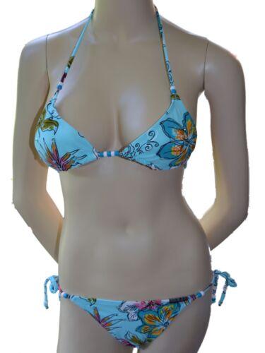 NUOVO Kulu Costumi Da Bagno Triangolo Cravatta Bikini Top /& TIE schierato BREVE SCEGLI TAGLIA 8f1t