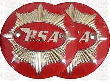 BSA Gold Star Tank Badges Gold/Red 4'' Inch 1949-1958