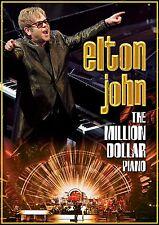 ELTON JOHN - THE MILLION DOLLAR PIANO  DVD NEU