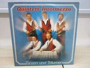 LP / Quintett Intermezzo - Tanzen und Träumen / CBS   Rec. /  Austria / RAR /