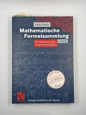 Lothar Papula Mathematische Formelsammlung 7 Auflage Gunstig Kaufen Ebay