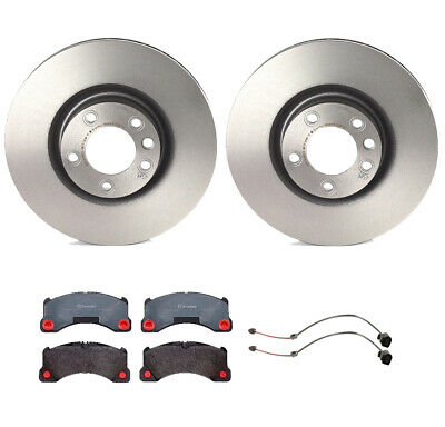 Front /& Rear Brembo Low Met Brake Pads Kit for Cayenne Touareg with 330mm Disc