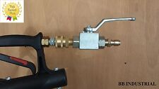 BE Ball Valve Kit - 3/8 Male & Female Ends - Pressure Washer / Whirl Way Cleaner