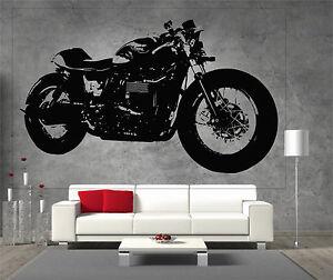 Triumph-Bonneville-Custom-Vinyl-Sticker-Wall-Art-Boys-Bedroom-Garage-Play-Room