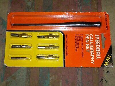 Speedball 2961 Calligraphy Dip Pen Set