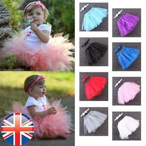 Image Is Loading UK Seller Baby Newborn Toddler Tutu Skirt And