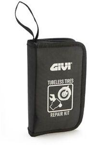 Trousse-de-Reparation-Forage-pour-Pneus-Preumatici-Tubeless-Moto-Givi-S450-Noir