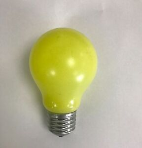 PHILIPS-60W-ES-E27-YELLOW-COLOURED-INCANDESCENT-GLS-BULB-PACK-OF-TWO