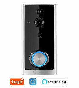WLAN Video Türsprechanlage 12V W LAN Video Tür Klingel mit Kamera /& Funk Gong