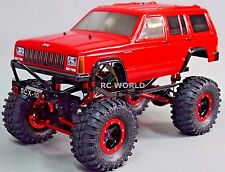 Custom Axial SCX10 1/10 RC JEEP CHEROKEE 4X4 2.2 Rock Crawler 8.4V *RTR*