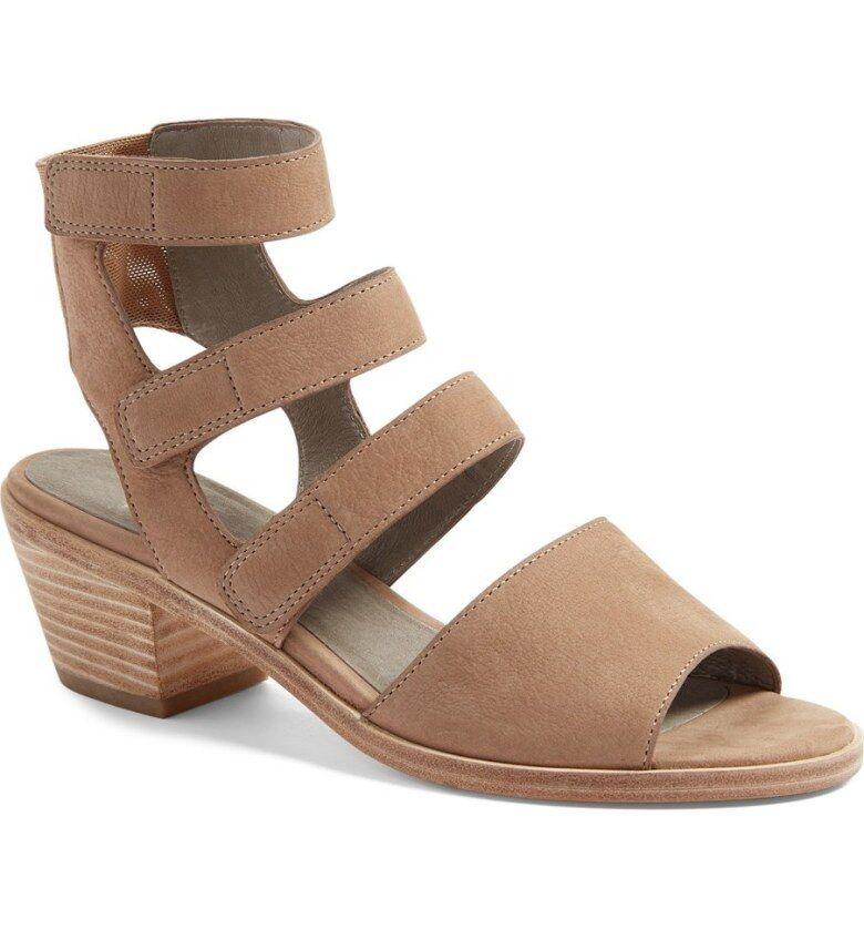 Eileen SZ Fisher Vessey Strappy Sandales SZ Eileen 9 Beige(Earth) Schuhes Heels 7afd67