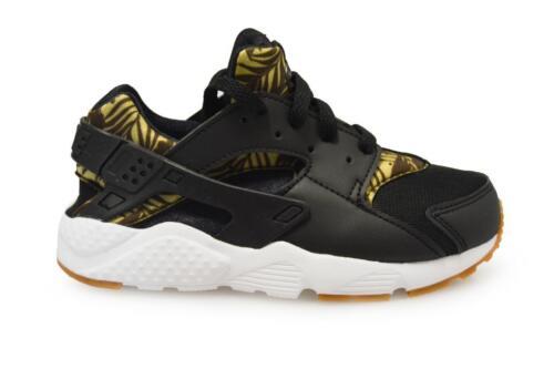 noir en Huarache Enfants ps Baskets 704944005 or Run Print Nike 1q8Ov
