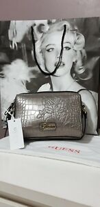 100 Tags Crossbody Genuine With Colour Grey Guess Bag pI1qqZ 23c4c5ef076