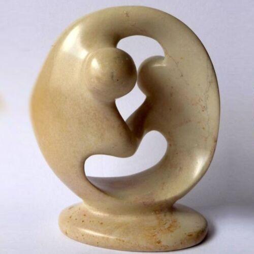 """Figur """"Paar/""""  aus Speckstein ca.10 cm"""