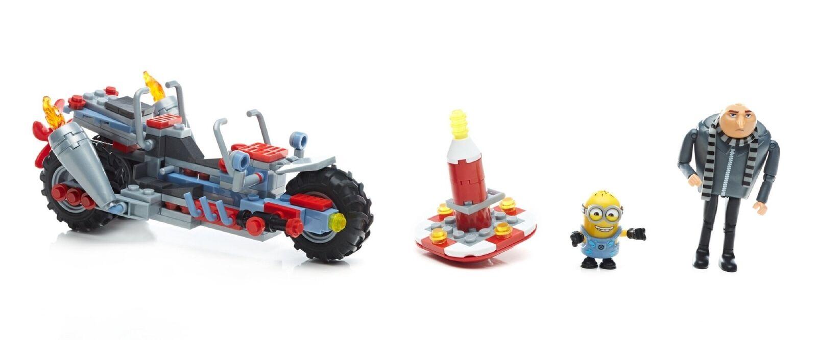 Mega Construx FDX82 Despicable Me 3 Minions Gru's Motorcycle