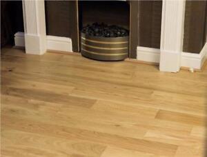 Engineered Oak Flooring Lacquered 18mm X 5mm X 150mm Hardwood Floors