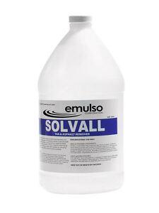 Solvall Sealer, Tar, Oil, Grease and Asphalt Remover - 1 Gallon