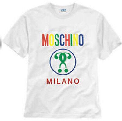 Moschino Couture Milano Black T-Shirt Size S-2XL Unisex Shirt New Gildan