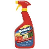 Daconil Ready-to-use Fungicide 32 Oz. Spray Plant Disease Control Rain Proof