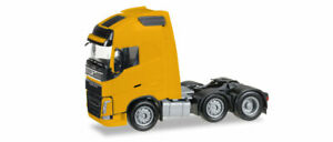 Herpa-305556-003-Volvo-Fh-Gl-XL-6x2-Solo-Tractor-Yellow-Model-1-87-H0