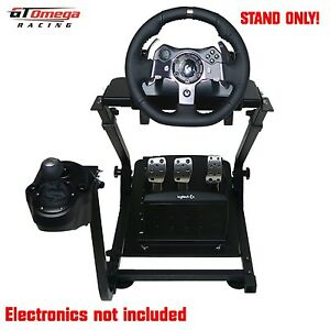 gt omega volante soporte para logitech g920 carreras conducir force ebay. Black Bedroom Furniture Sets. Home Design Ideas