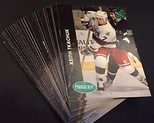 KEITH TKACHUK 1991-92 Parkhurst Hockey LOT of 24 ROOKIE Cards #424 WINNIPEG JETS