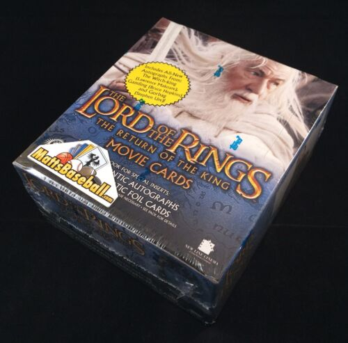 LOTR ROTK Lord of the Rings Return of the King Hobby Factory Sealed Box 36 packs