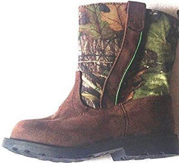 7d6ba513395 BOOTS Cowboy Boys Size 9m EUR 26 Manmade Materials Brown Healthtex Toddler