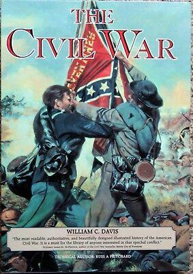 The Civil War Box Set of 3 Paperback Books Battles; Commanders Fighting Men