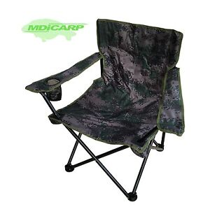 Mdi Carp Folding Camping Camouflage Chair Ideal For