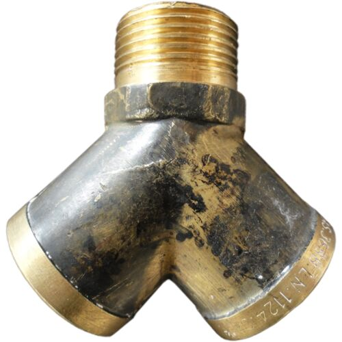 Kinetic /'Add-A-TAP/' Y FITTING ADAPTOR Brass Easily Turns Into 2-15mm Or 20mm