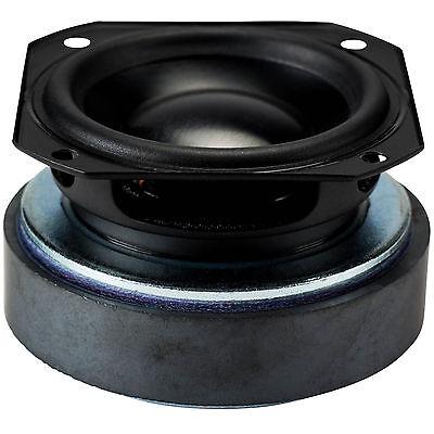 """Peerless 50F25AL01 2"""" Aluminum Full Range Speaker"""