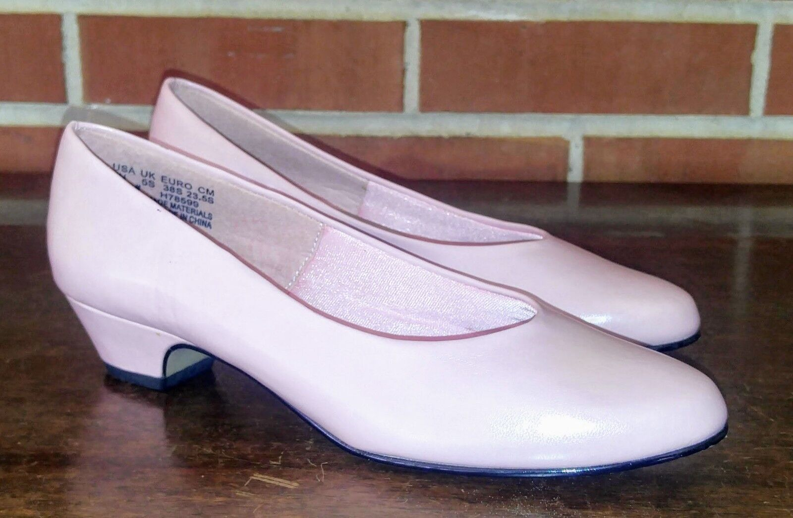 Soft Style Hush Puppies Pink Cushioned Slip Size On Heels Shoes Women Size Slip 7N 7109d7