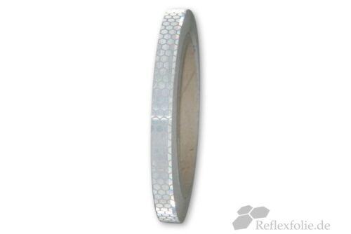 10m x 10mm 3M™ Reflexband Reflexfolie Konturmarkierung 823i silberweiß