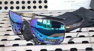08cac9eb02 New Oakley GAUGE 8 L Sunglasses 4124-0662 Gunmetal w  Prizm Sapphire ...