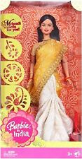 Barbie in India Gift Pack Traditional Dressed Attire Girls Toys (Color may vary)