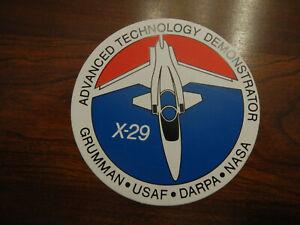Vintage Grumman X-29 USAF DARPA NASA Advanced Technology Demonstrator