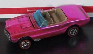 Restored-Hot-Wheels-Redline-1968-Custom-Firebird-Pink