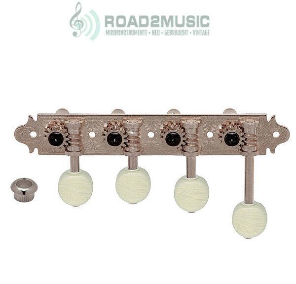 Gotoh MF40 Mandoline Tuner Mechanik 4 links 4 rechts Nickel