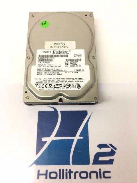 """Hitachi HDS721616PLA380 (0Y30006) 3.5"""" 160GB SATA 7200RPM HDD"""