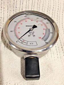 Enerpac-Pressure-Gauge-Enerpac-GF-10B-100mm-700-Bar-100kN