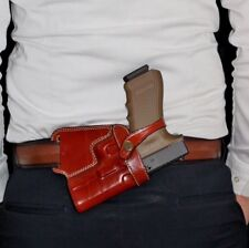 SOB - Small of The Back Concealed Carry Leather Holster for