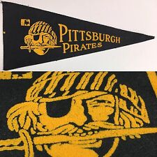 1969 Vintage Pittsburgh Pirates Baseball Mlb 4x9 Mini Pennant Banner Penn