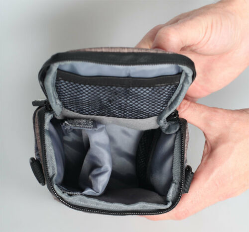 Motion XS Halfter Fototasche in Schwarz 14x16x10 cm Digitalkamera Kamera Tasche