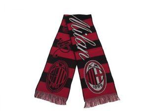 Sciarpa-Milan-Classica-Originale-Milano-Jaquard-AC-Milan-Stadio-Ufficiale