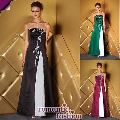 ♥Abendkleid Ballkleid Brautkleid 3 Farben  Größe 34-58 zur Auswahl+NEU+Sofort♥